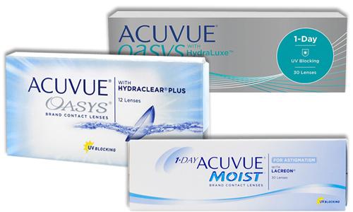 Однодневные контактные линзы acuvue купить