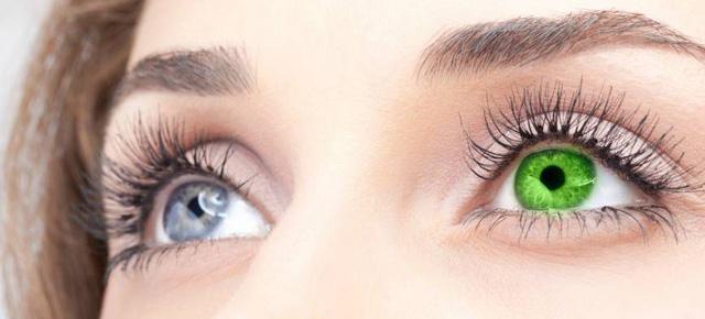 Линзы цветные для глаз