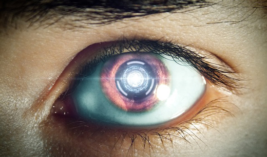 электронные контактные линзы