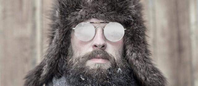 Очки запотевшие зимой