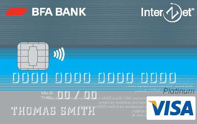 банковская карта interzet