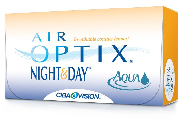 контактные линзы купить air optix night day