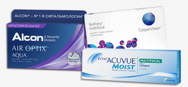 Мультифокальные однодневные контактные линзы