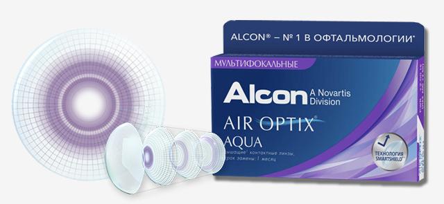 Однодневные контактные линзы AIROPTIX