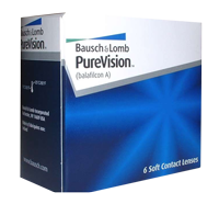 Контактные линзы Pure Vision
