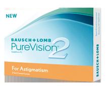 Контактные линзы Pure Vision 2HD for Astigmatism