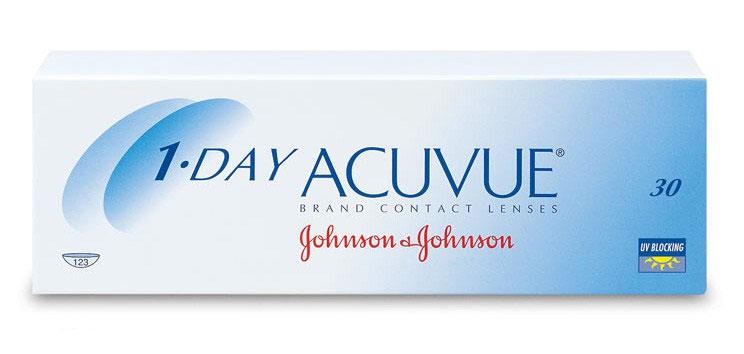 линзы 1 day acuvue 30