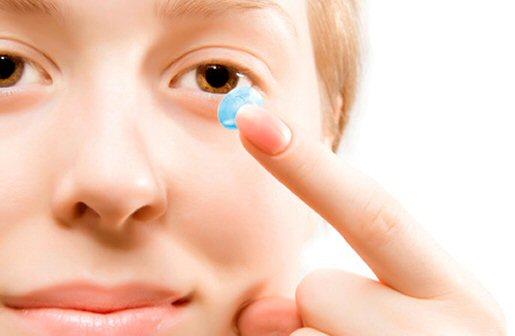 Аллергия контактные линзы