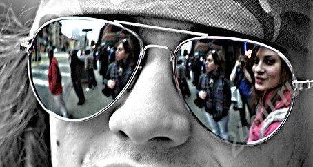 очки авиаторы с цветными линзами
