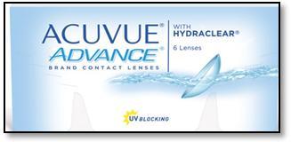 Acuvue advance в новой упаковке
