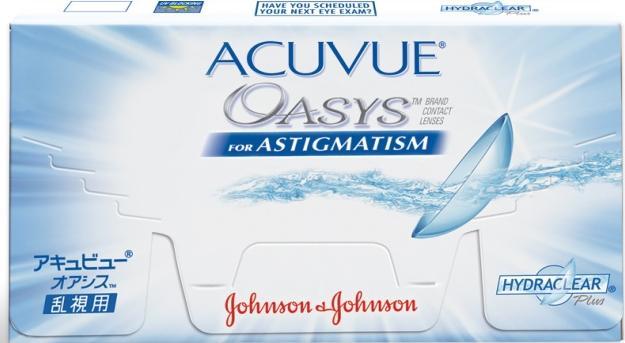 acuvue oasys for astigmatism в старой упаковке