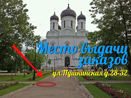 Доставка контактных линз в Пушкин