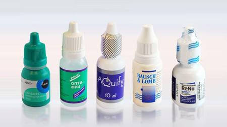 Капли для контактных линз